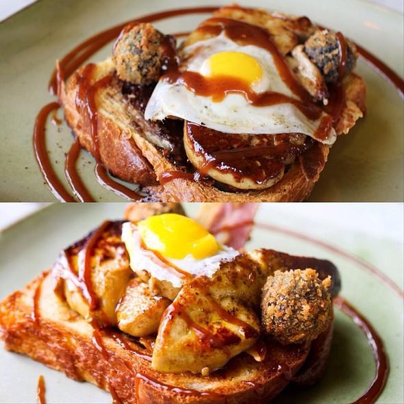 Foie Gras All Day Breakfast @ Duck & Waffle