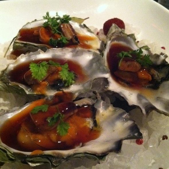 Oyster Foie Gras @ Morimoto