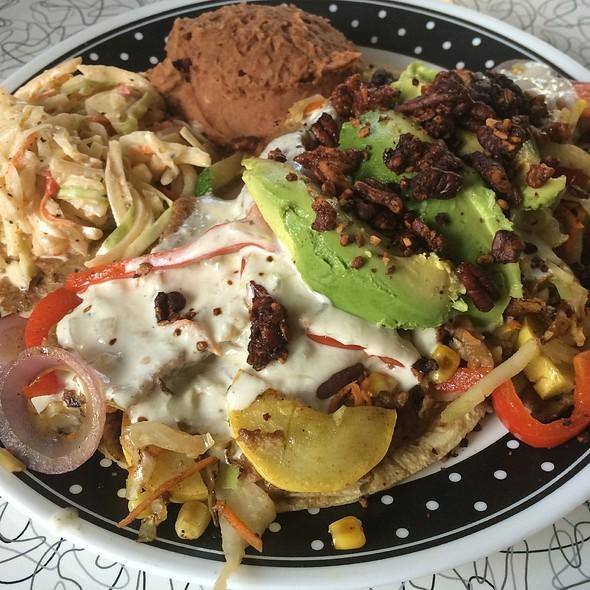 Enchiladas Suisas @ Spiral Diner & Bakery