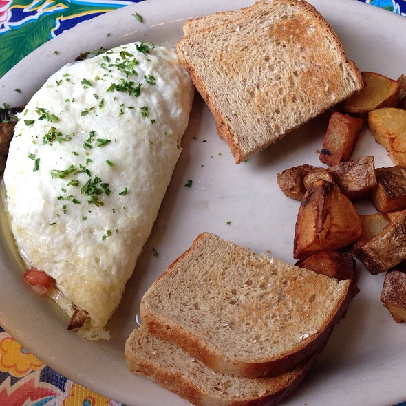 vegetable omelet @ Elizabeth's Restaurant