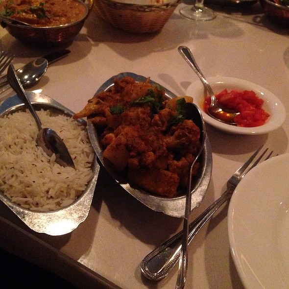 Aloo Gobhi - Shalimar Indian Restaurant, Louisville, KY