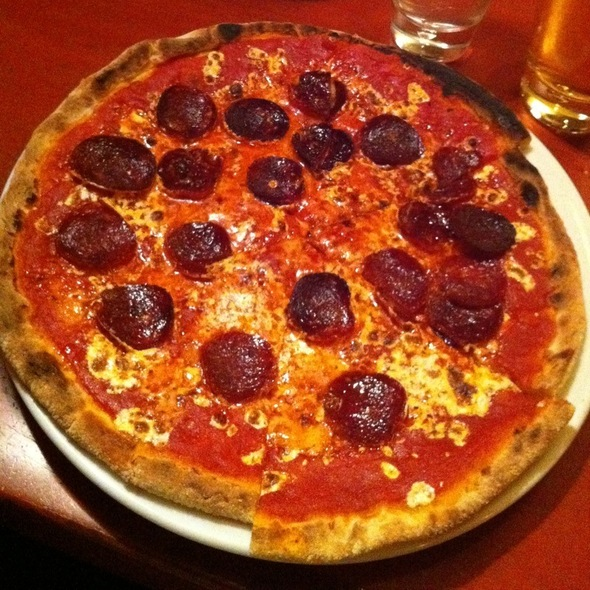 Pepperoni Pizza @ Otto Enoteca & Pizzeria
