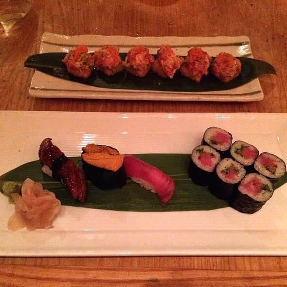 Sushi Assortment @ Nobu Miami Beach
