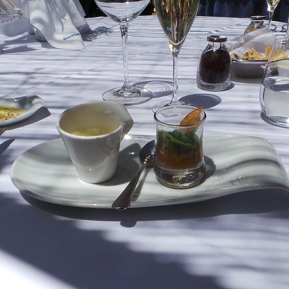 Curry Soup, Suckling Pig Jelly @ Es Raco d'es Teix