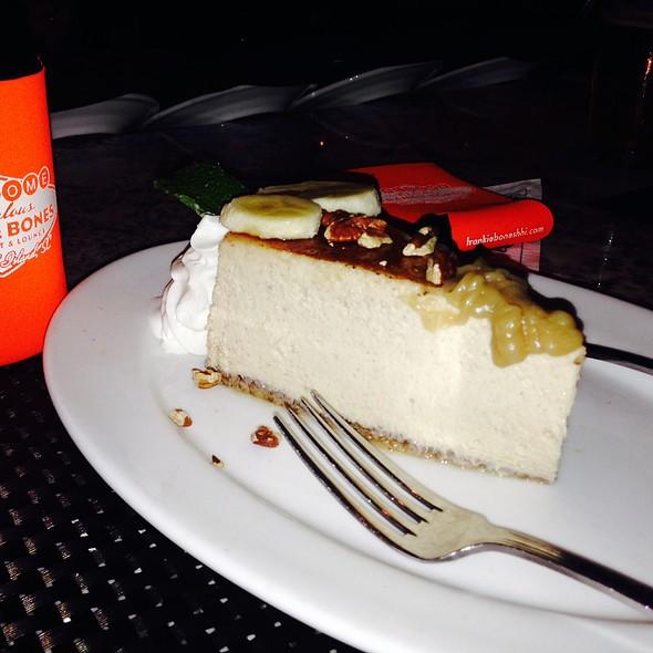 Bananas Fosters Cheesecake  - Frankie Bones Restaurant & Lounge - Hilton Head Island, Hilton Head Island, SC