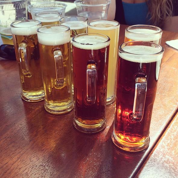 Beer Sampler - Beach Chalet Brewery & Restaurant, San Francisco