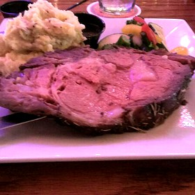 Prime Rib - Almost Home Restaurant