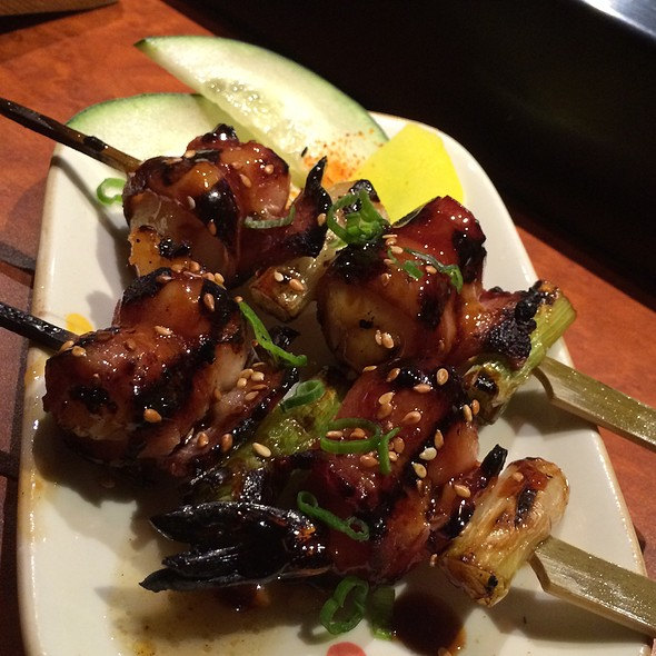 Bacon Wrapped Shrimp Yakatori