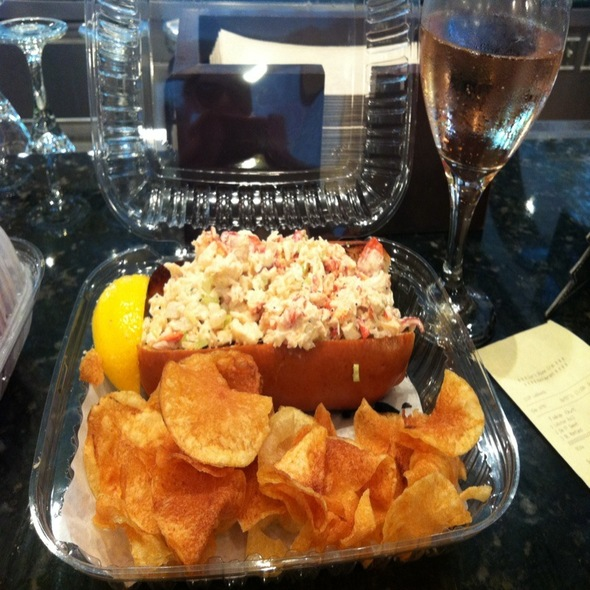 Lobster Roll (Sandwich) at Joe's Stone Crab in Miami Beach, FL
