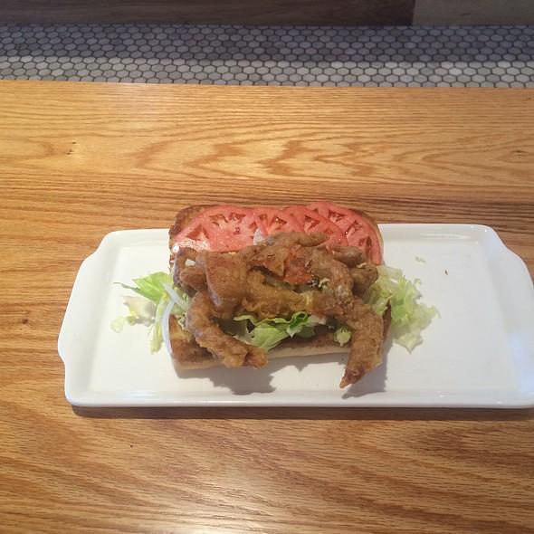 Softshell Crab Sandwich - ECHO St.Simons Island, Saint Simons, GA