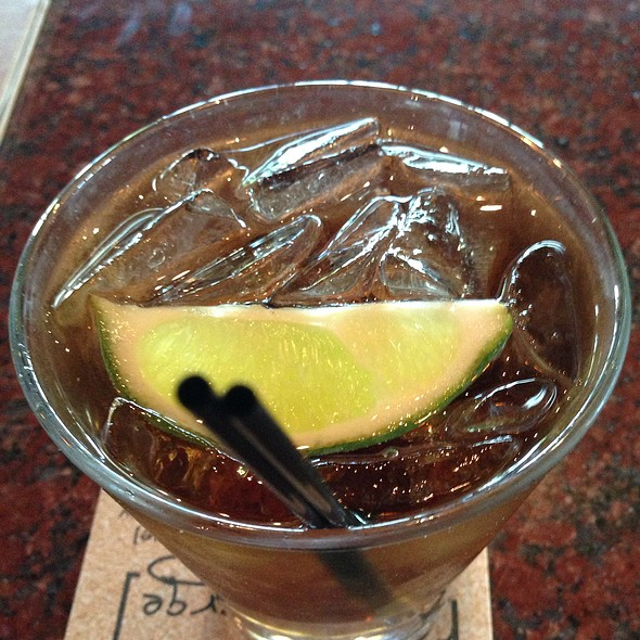 Water Down Captain And Coke! - Kona Grill - Woodbridge, Iselin, NJ