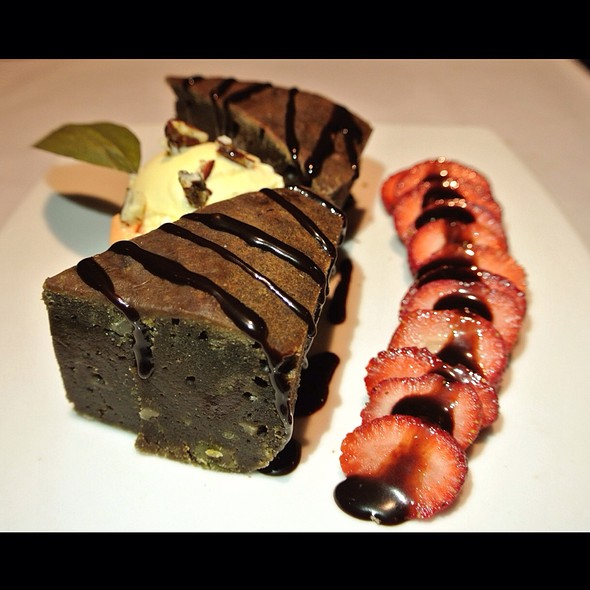 Brownie De Coca @ A Mi Manera