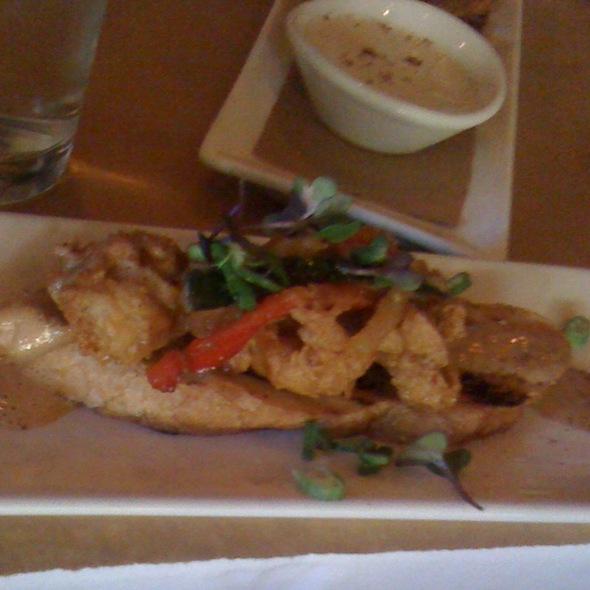 Deep Fried Oysters @ Wisteria