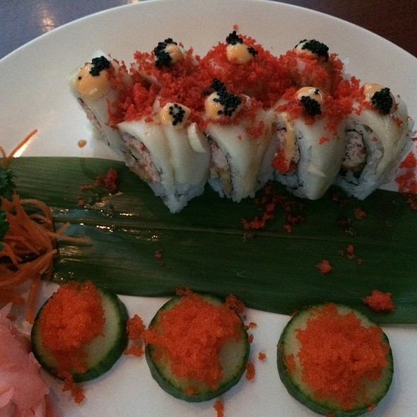 Dragon Roll @ Sushi Katana