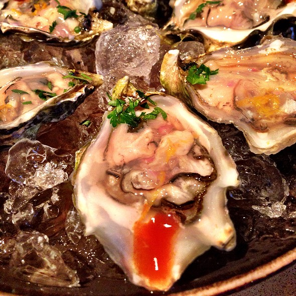 Half-dozen Oysters On The Halfshell @ Fog City