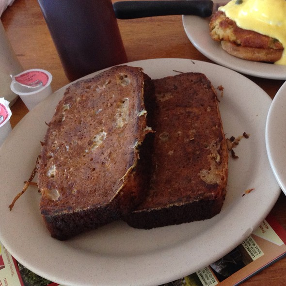 Banana Bread French Toast @ 43rd Street Deli & Breakfast House
