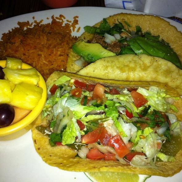 Tacos @ Miguel's Cocina Mexican Restaurant