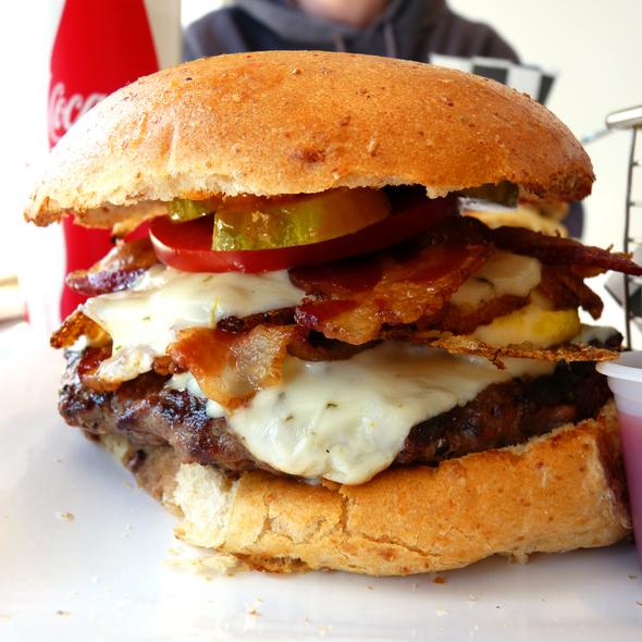 Burger @ brgr:shack