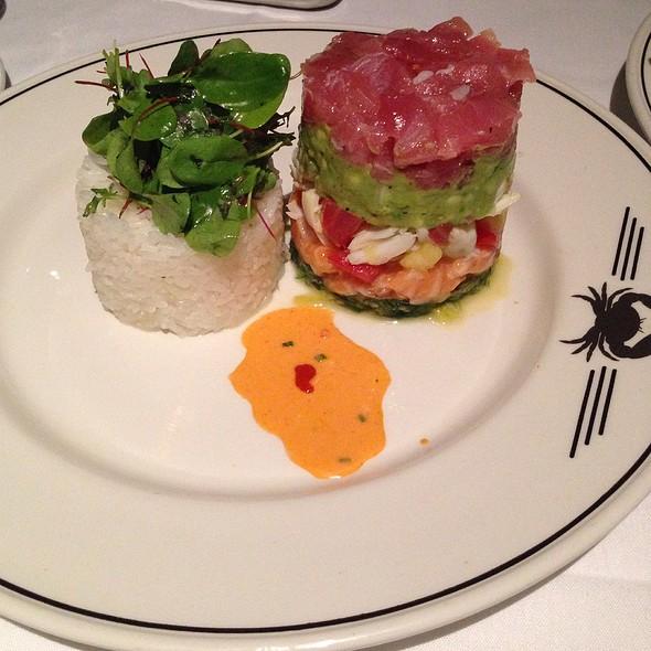 Tuna Tartare Tower @ Trulucks' Seafood Steak & Crab House