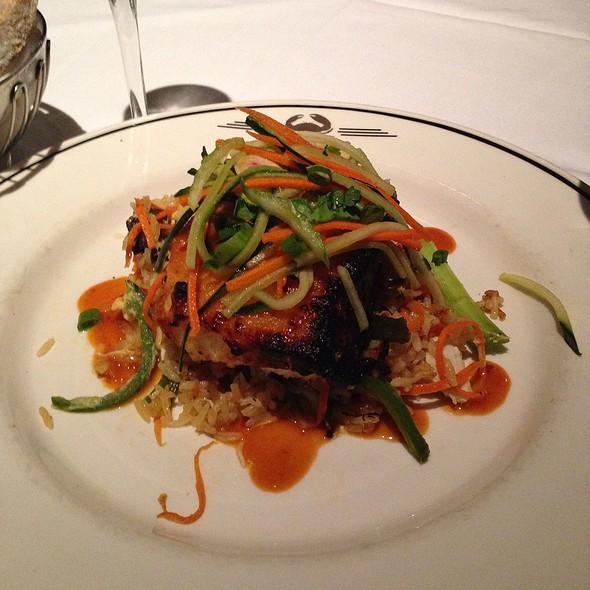 Miso-Glazed Seabass @ Trulucks' Seafood Steak & Crab House