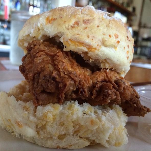 Fried Chicken Biscuit @ Frank Restaurant