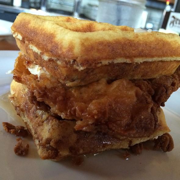 Chicken & Waffles @ Frank Restaurant