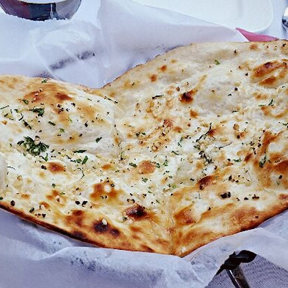 Garlic Naan Bread - Indique, Washington, DC