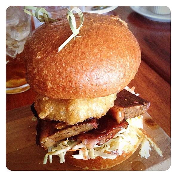 BBQ Brisket Sandwich @ Rustic Tavern