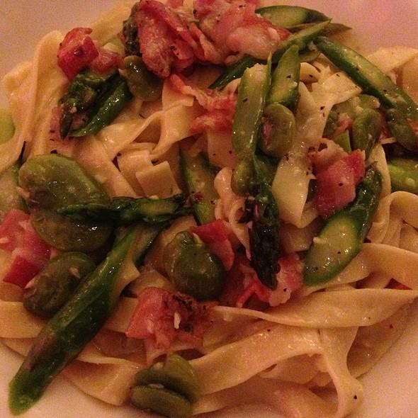 Fettuccine Primavera @ Biba Restaurant
