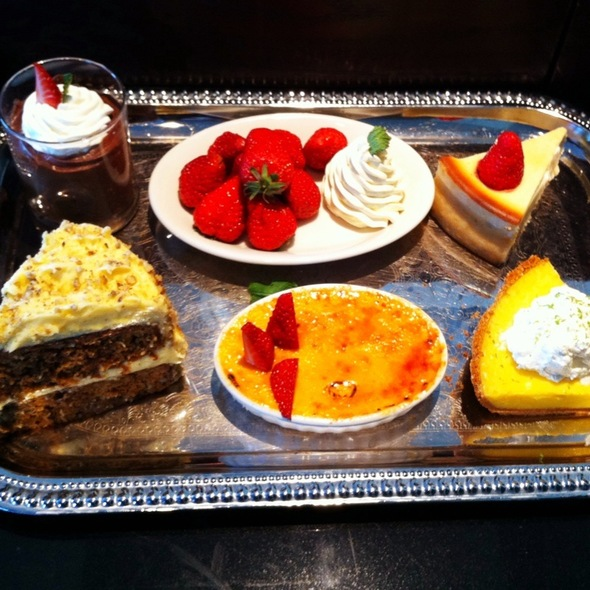 Assorted Desserts @ Morton's Steakhouse