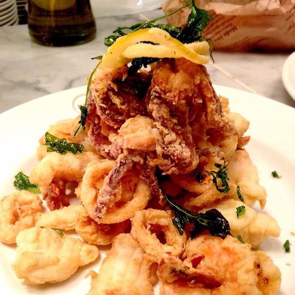 """Fritto Misto """"Alla Ligure"""" Mixed Seafood @ Il Pesce @ Eataly"""