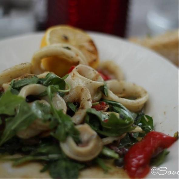 Grilled Calamari - Vic and Angelo's, Palm Beach Gardens, FL