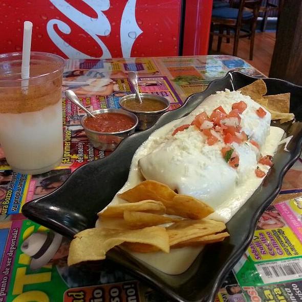 Wet Burrito Special @ I Love Tacos Taqueria & More