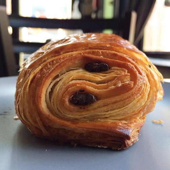 Chocolate Croissant @ Cafe L'Aube