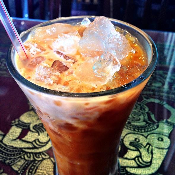 Thai Iced Tea @ Monorom Cambodian Restaurant