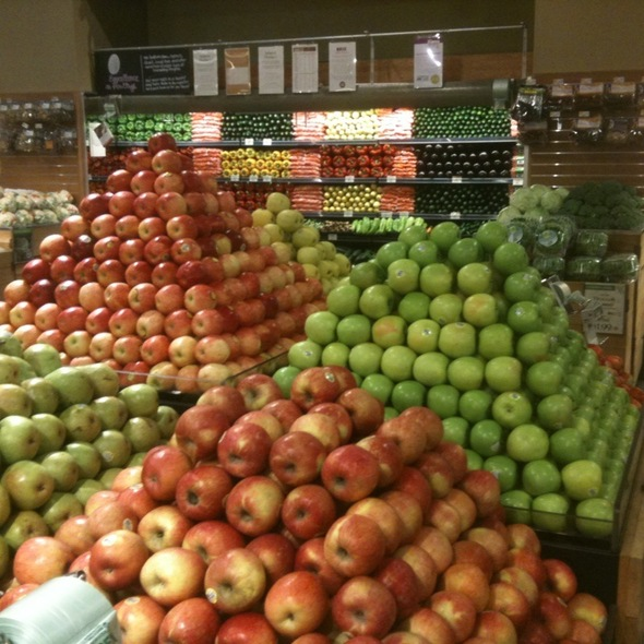 We Have Apples!  @ Whole Foods Market Friendship Heights