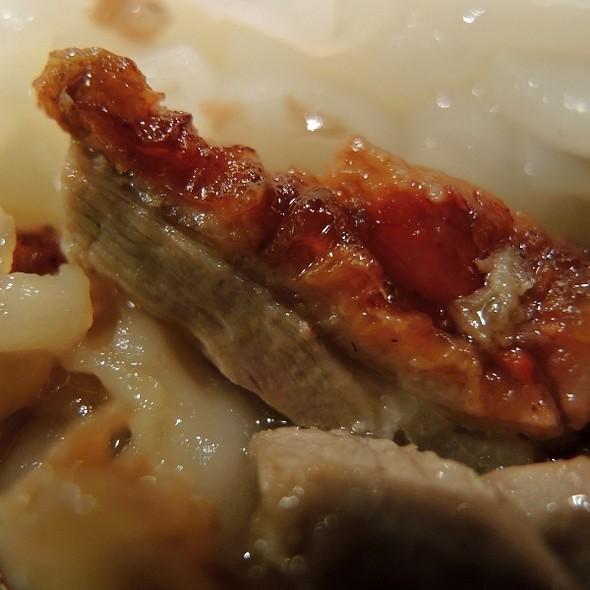 Shredded Duck Rice Roll @ Gum Kuo Restaurant