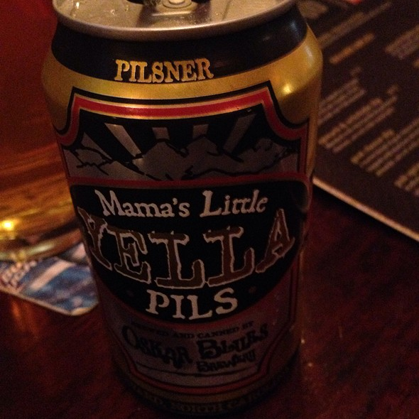 Mama's Little Yella Pils Czech Brew