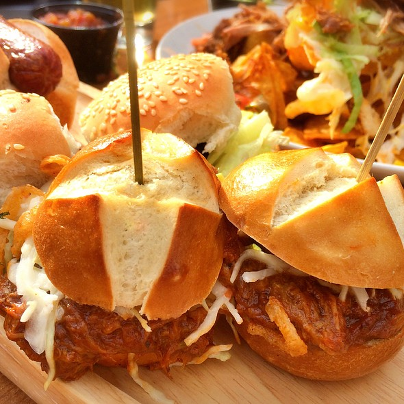 Pulled Pork Sliders - The Ballroom, Toronto, ON