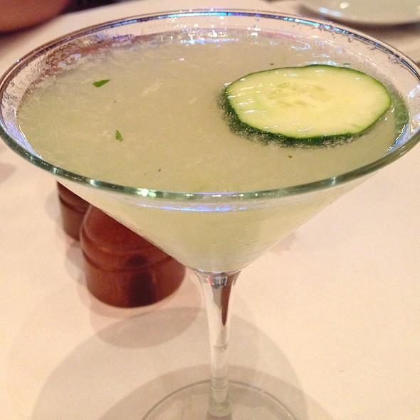 Cucumber Basil Martini @ Brio Tuscan Grille