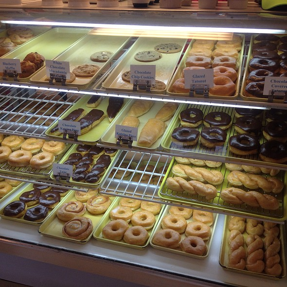 Donut Case @ Tatonut Donut Shop
