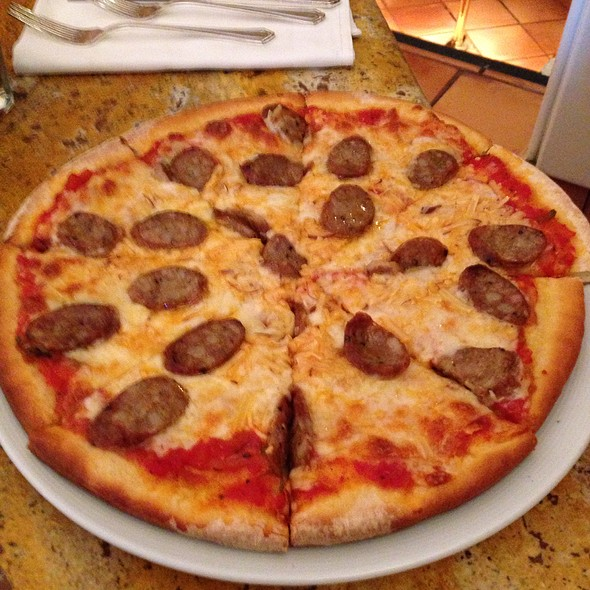 Sausage Pizza - Smeraldi's Restaurant, Los Angeles, CA