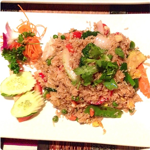 Veggie Fried Rice With Egg
