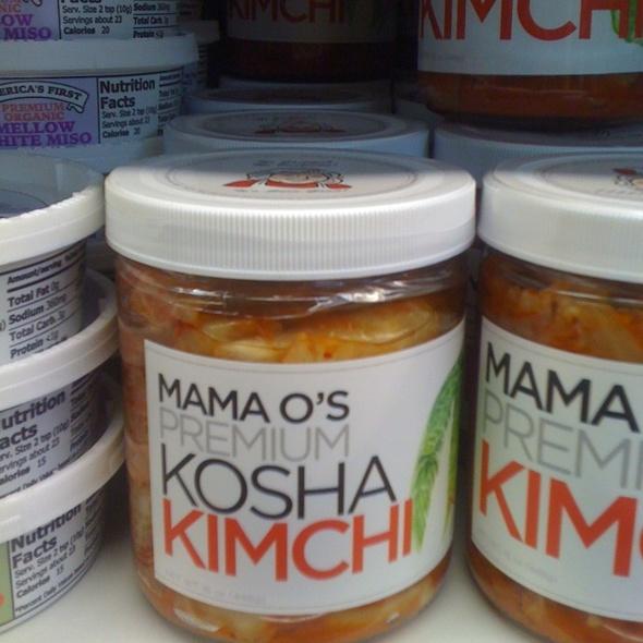 Kosha Kimchi @ Quechol Products