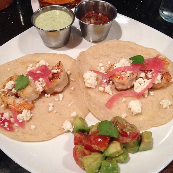 Grilled Shrimp Tacos @ Fulton Alley