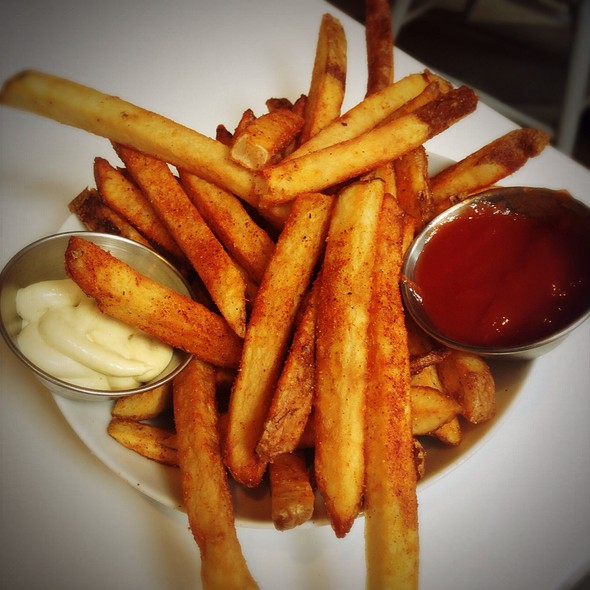 Fries With Pickled Okra Mayo @ SoBou