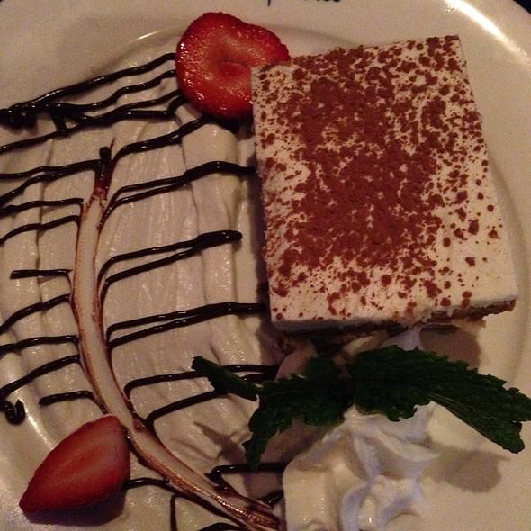 homemade tiramisu - Cafe Vico Ristorante, Fort Lauderdale, FL