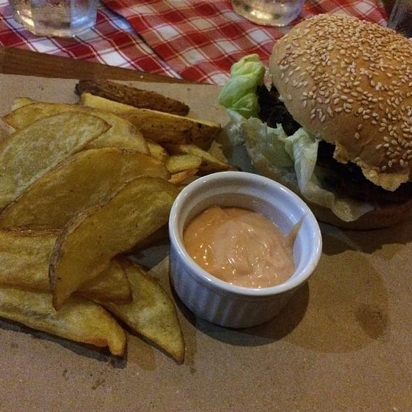 Stuffed Killer Burger @ Alfredo's