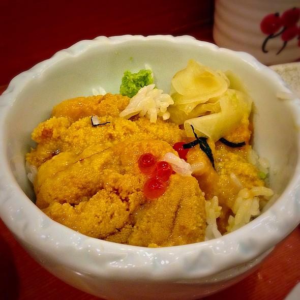 Hokkaido Uni @ Sasano Sushi House Shanghai