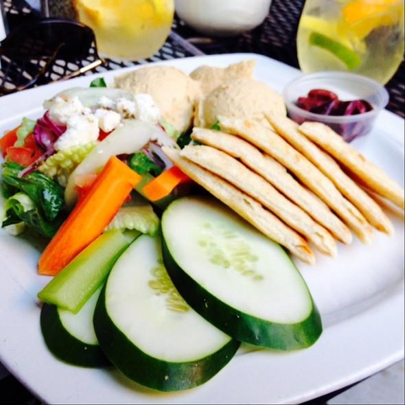 Hummus Plate @ Wells On Wells
